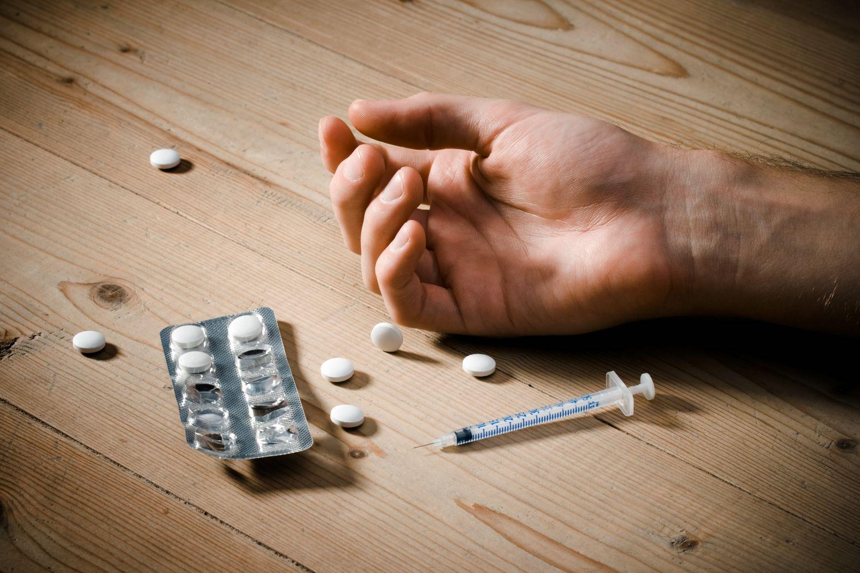 kábítószer az emberi testbe)