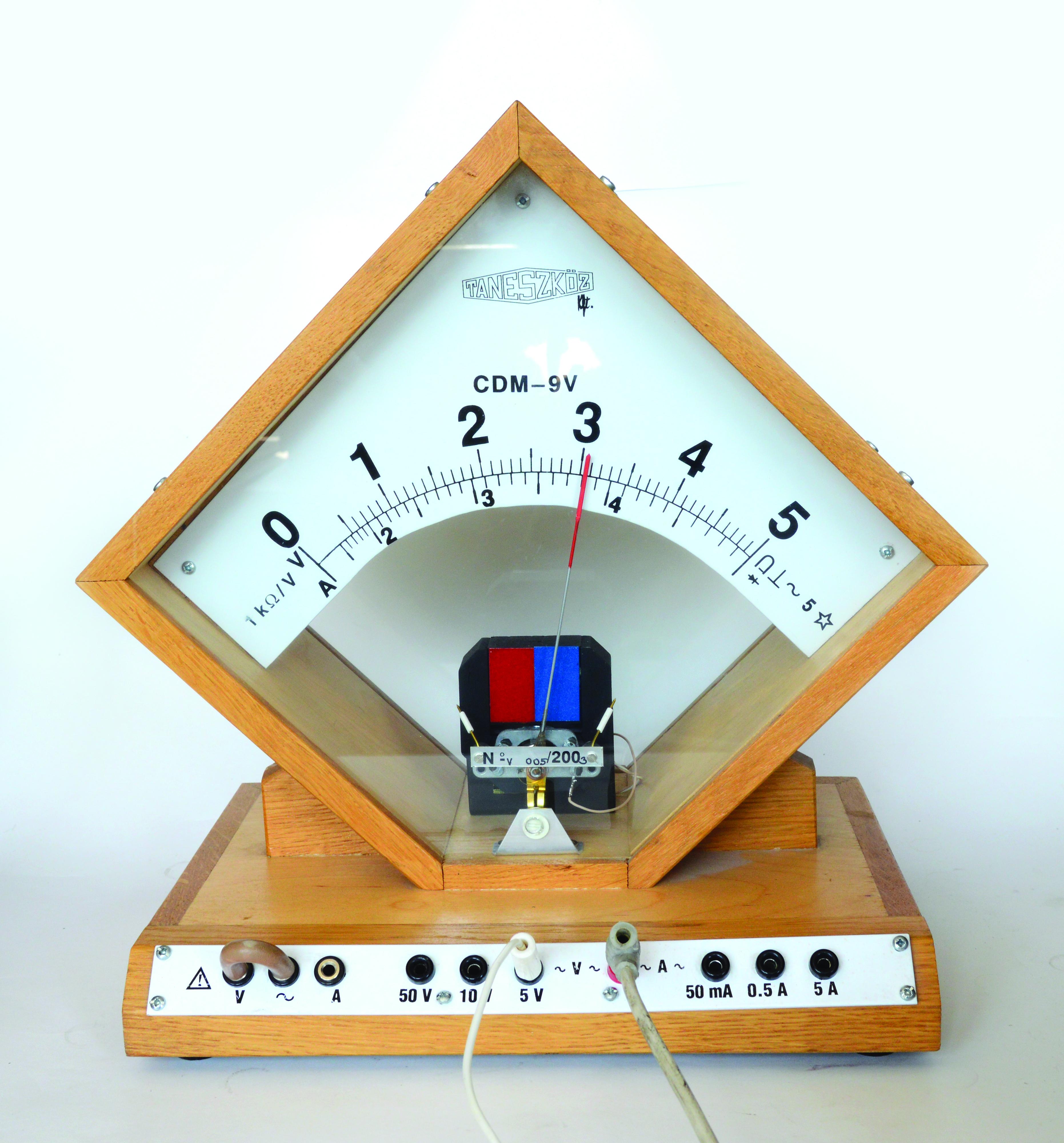 Váltakozó áram mérése